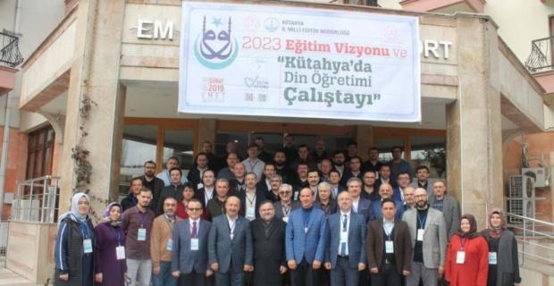 'Din Öğretimi Çalıştay'ı Emet'te gerçekleştirildi