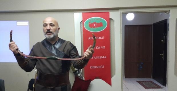 Geleneksel Türk Okçuluğu konferansı