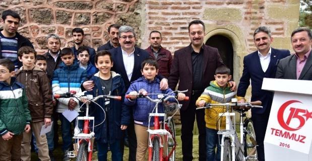 """""""Haydi Çocuklar Camiye"""" projesinde ödüller verildi"""