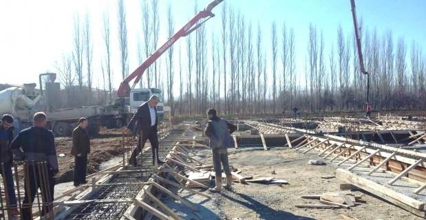 Hisarcık'ta 18 sanayi dükkanının temeli atıldı