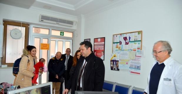 İl Sağlık Müdürü Bilge Aile Sağlığı Merkezlerini ziyaret etti
