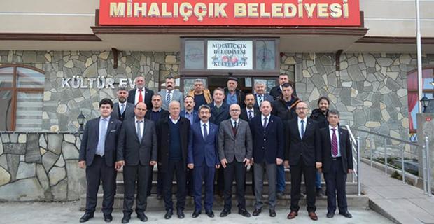 MHP İl Yönetimi Mihalıççık'ta