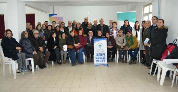 Odunpazarı kent konseyi Göztepe mahalle meclisi kuruldu