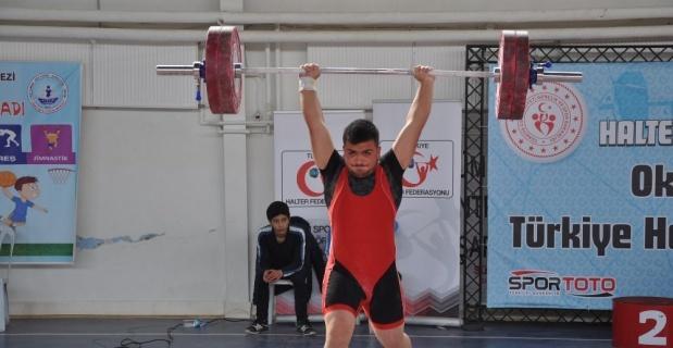 Okul Sporları Gençler Türkiye Halter Şampiyonası sona erdi