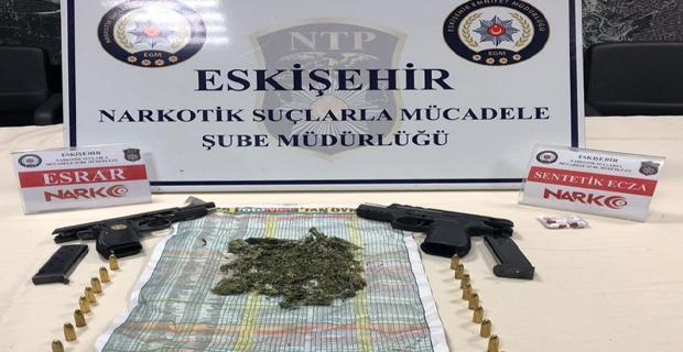 Uyuşturucudan 24 gözaltı