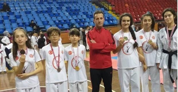 Tavşanlı Gençlik ve Spor Kulübü'nün Taekwondo başarısı