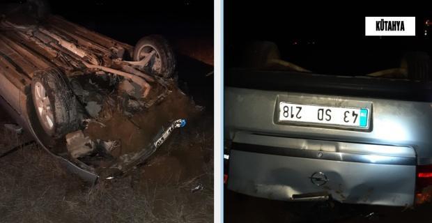 Trafik kazası: 1 ölü 2 yaralı