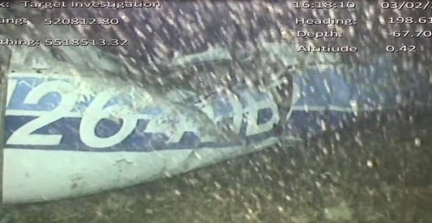 Uçağın enkazındaki ceset çıkarıldı
