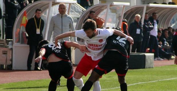 Ümraniyespor tek golle kazandı
