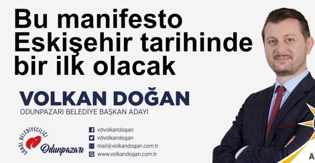 Volkan Doğan seçim manifestosunu açıklıyor