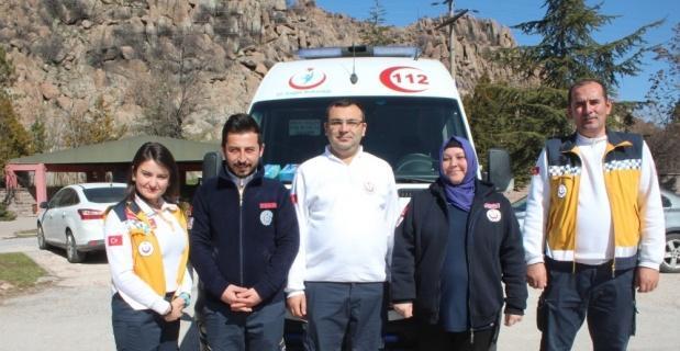 """""""Altın Ambulans Ödülleri""""ne Afyonkarahisar'dan aday"""