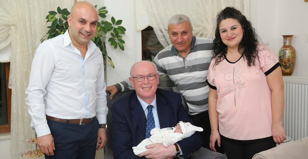 'Aramıza Hoş Geldin Bebek Ziyaretleri' devam ediyor