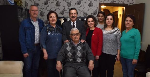 Başkan Ataç hasta ziyaretlerini sürdürüyor