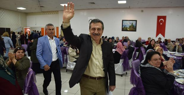 Başkan Ataç vatandaşlar ile buluştu