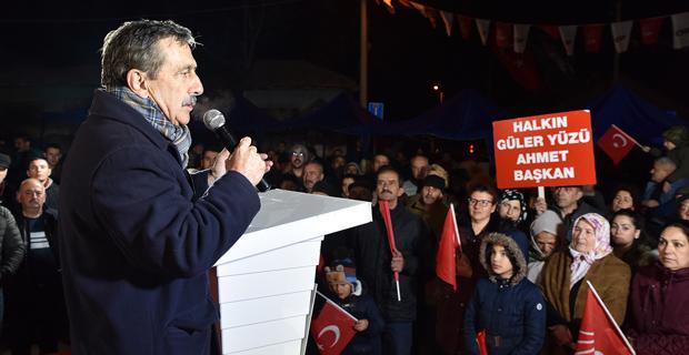 Çukurhisar'dan Ataç'a destek
