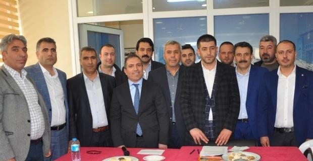Es Ağrılılar Derneğinin yeni Başkanı Cemil Nazlı