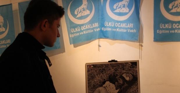 Eskişehir Ülkü Ocakları 'Hocalı Soykırımı'nı fotoğraf sergisi ile andı