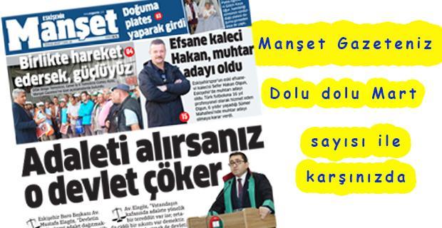 Manşet Gazetesi yeni sayısı çıktı
