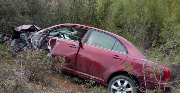 Tır otomobile çarptı/Bilecik