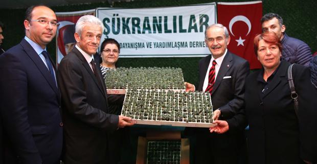 25 bin Lavanta fidesi üretici ile buluştu