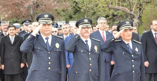 Afyonkarahisar'da polis teşkilatının kuruluş yıldönümü kutlamaları