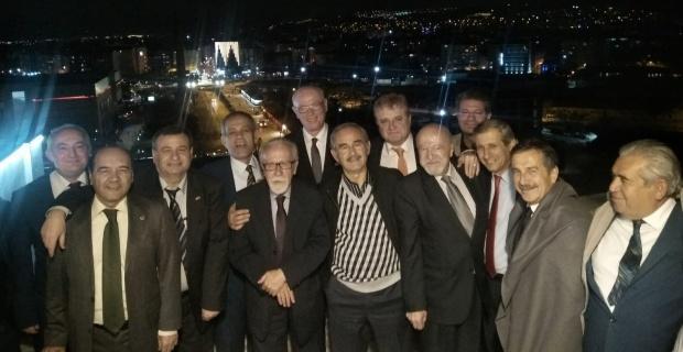 Ahbaplar Grubu  Başkanları ağırladı
