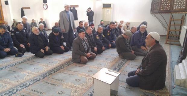 Bolvadin İlçe Emniyet Müdürlüğü şehitler için mevlit okuttu