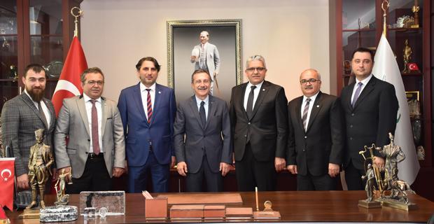 EOSB'den Başkan Dt. Ataç'a ziyaret