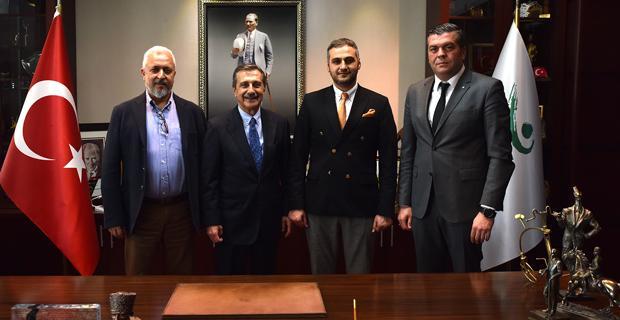 Eskişehirspor Yönetiminden Ataç'a ziyaret