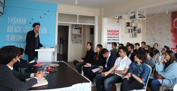 Gençliğin Atatürk devrimleri çizgisinde birleştirmesi anlatıldı