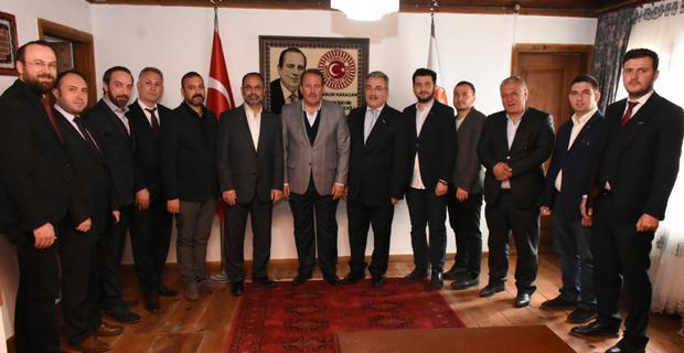 Karacan, MÜSİAD'ı Kabul Etti