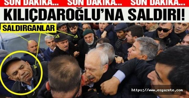 Kılıçdaroğlu'na şehit cenazesinde çirkin saldırı