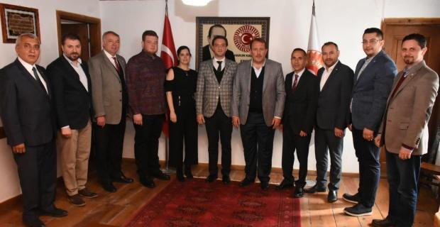 Kızılay yönetiminden Harun Karacan'a ziyaret