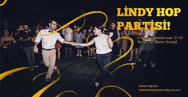 Lindy Hop Dans gecesi
