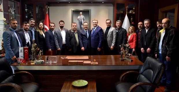 Lokantacılar Odası'ndan Ataç'a ziyaret