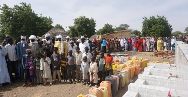 Mihalıççık'tan Çad'a su kuyusu yardımı