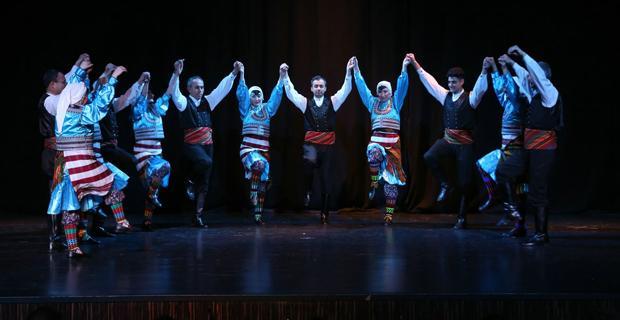 Odunpazarı'nda Dans Şöleni