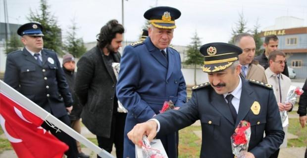 Şehit polisler unutulmadı