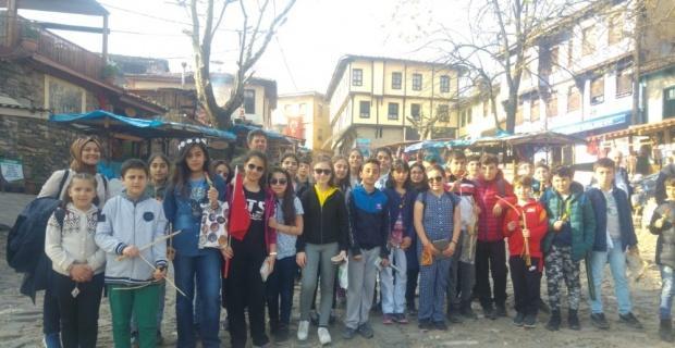 Şuhutlu minik öğrencilerin Bursa gezisi heyecanı