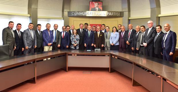 Başkanlardan Kemal Kılıçdaroğlu'na Ziyaret