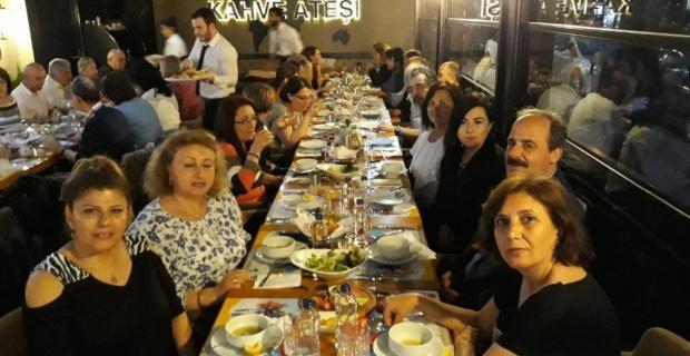 Dostlar Grubu iftar yemeğinde buluştu