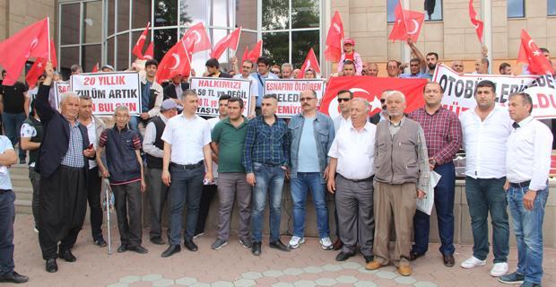 Halk otobüsü işletmecileri isyanda
