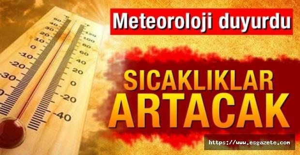 Meteorolojiden 'Afrika' sıcağı uyarısı
