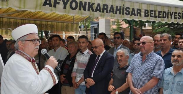 Afyon'da şehit Mursi için gıyabi cenaze namazı kılındı