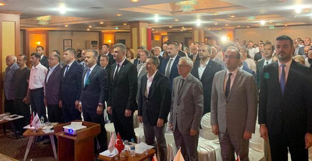 Ataç, Türkiye Sağlıklı Kentler Birliği Meclisi'nde