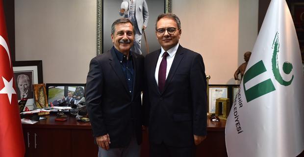 Ataman'dan Ataç'a ziyaret