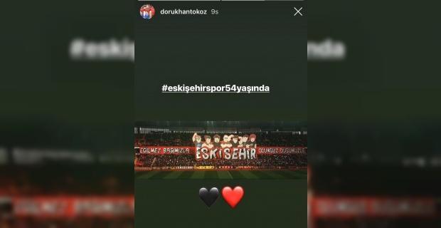 Dorukhan Toköz eski kulübünü unutmadı