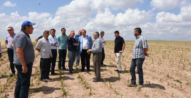 Karacan'dan çiftçiye destek sözü