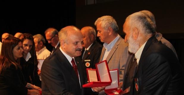 KKTC Milli Mücadele Madalya ve Beratı Tevcihi töreni