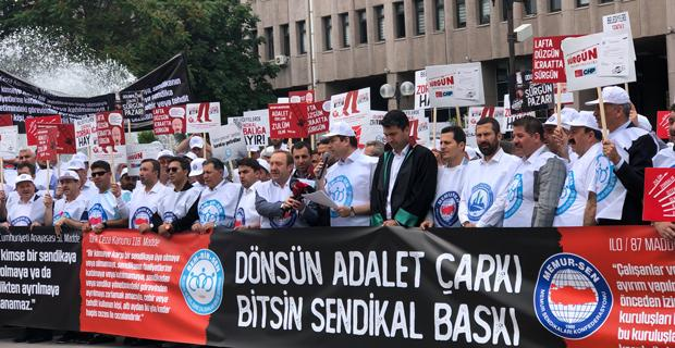 Memur-Sen'den'den Odunpazarı Belediyesi'ne suç duyurusu